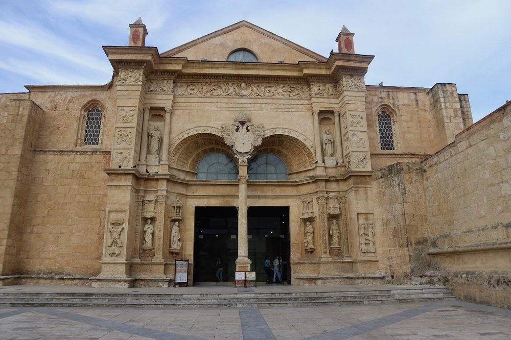 Basilica Cathedral of Santa María la Menor; photo by Mercedes Sanchez