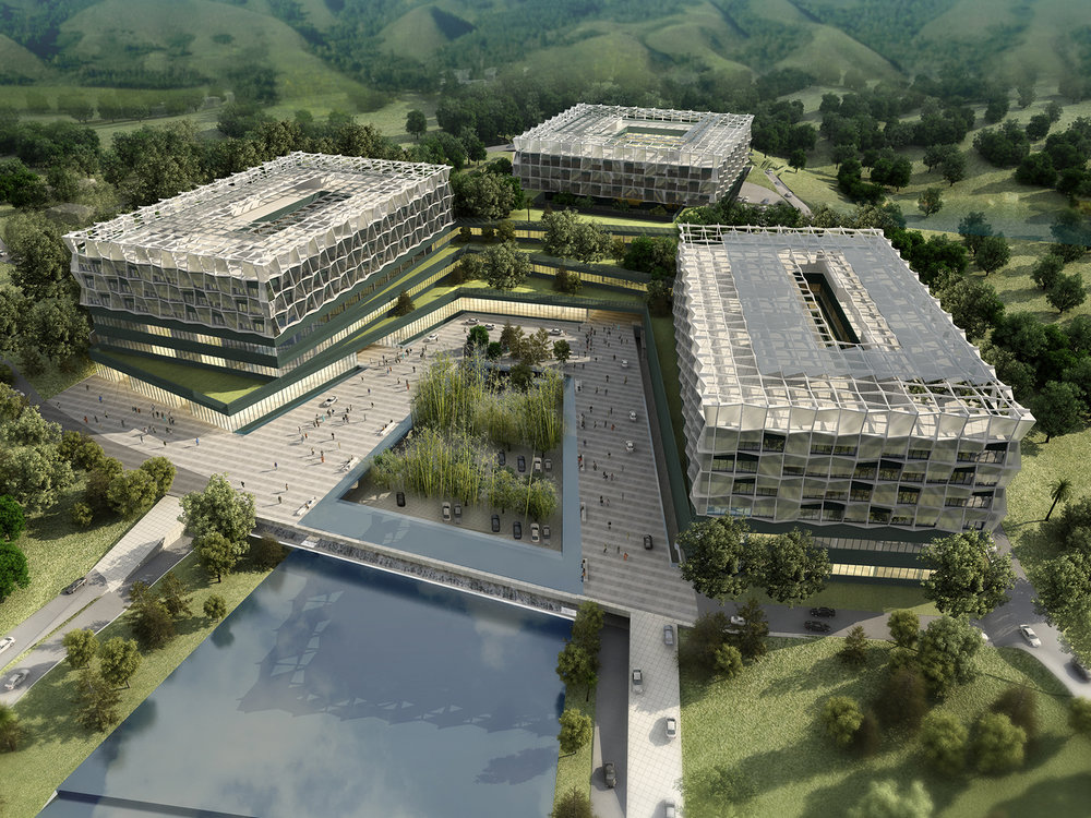 Lemanarc won the contest of project planning of NanJing Public Medical Centre     August, 2012