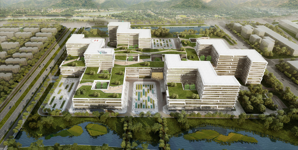 Taizhou Hospital New Campus  Taizhou,China