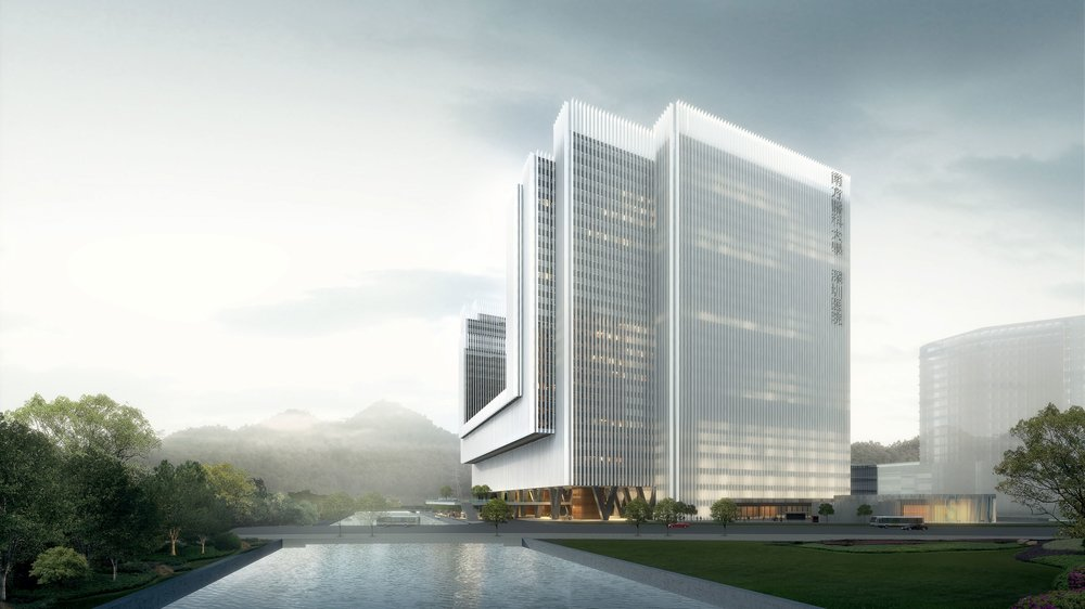 The Second phase of the Shenzhen Hospital of Southern Medical University  shenzhen, china