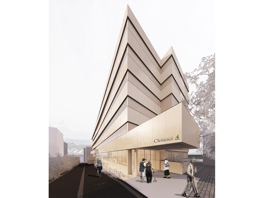 Extension of EMS  Foundation Clemence Aged people hospital  Lausanne,Switzerland