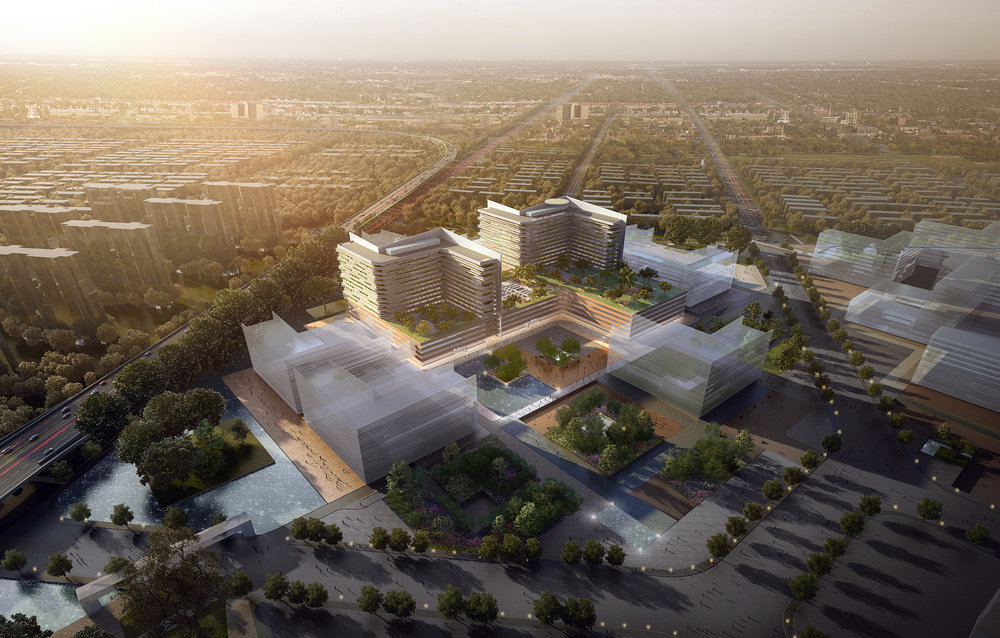 Nantong  Central  Innovation District Medical Center and Class III General Hospital  Nantong ,China