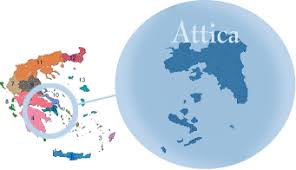 Attica - With Athens as the capital, in the heart of Greece