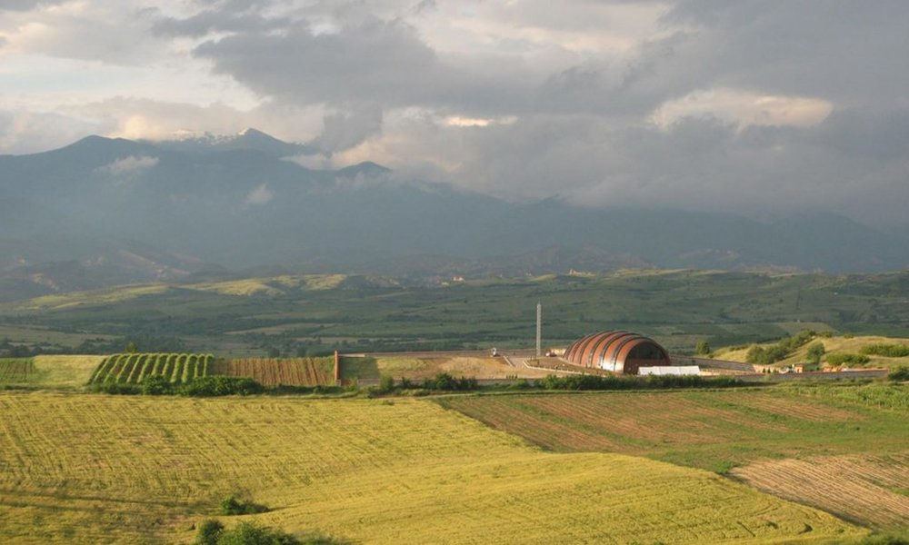 Orbelus Winery in the Strouma Valley of the Thracian Lowlands