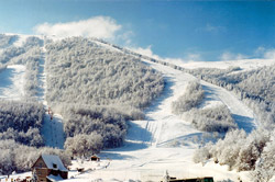 Skiing in Greece? Yes there is - including in the Naoussa region.
