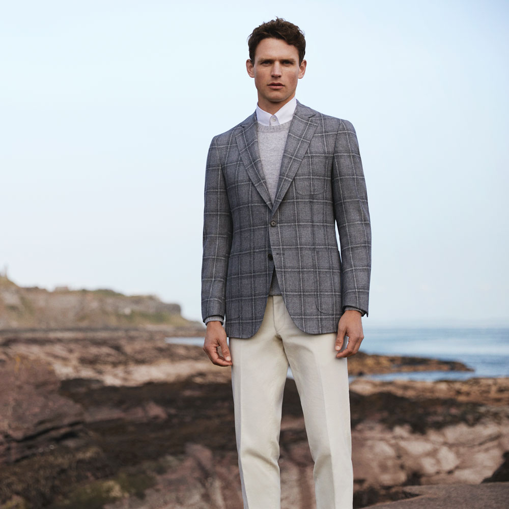 Cloth: Scabal :: Escape No. 802651