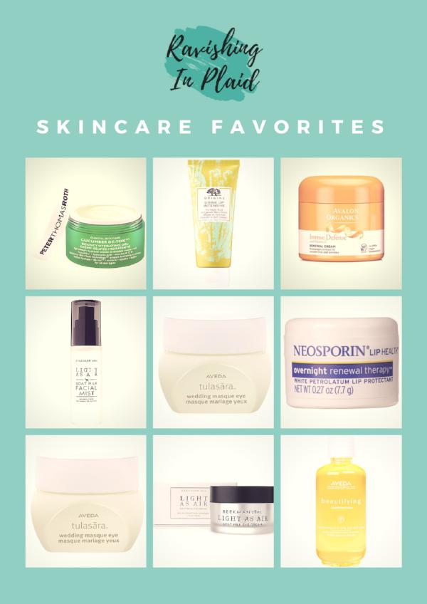 Skincare Favorites