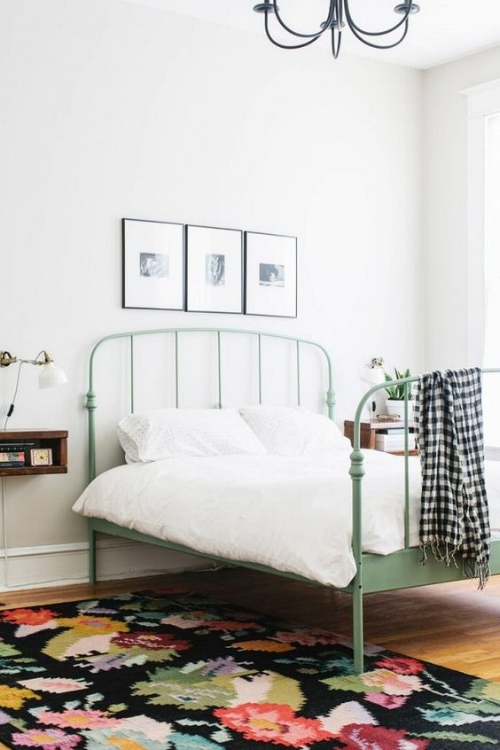 Ikea Wrought Iron Styled Bed