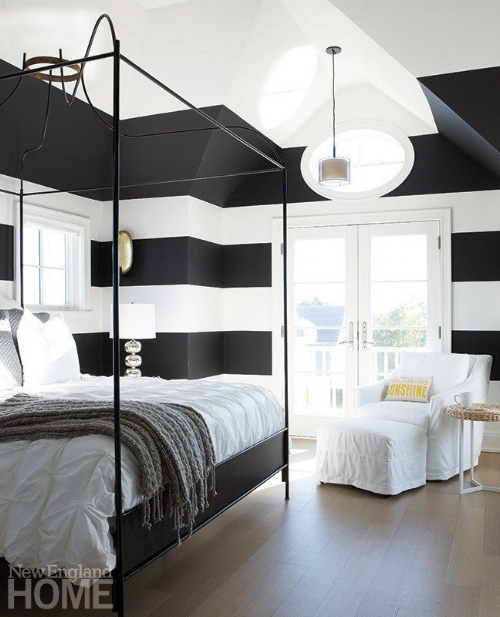 Beautiful Bedroom with Wrought Iron Bed