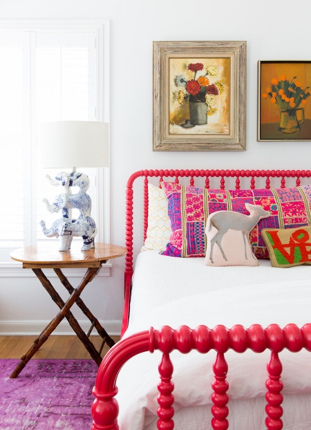 Painted Bed Frame