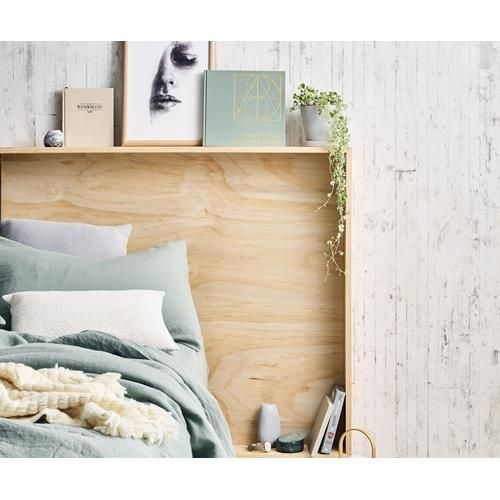 Plywood Bedboard for the Bedroom