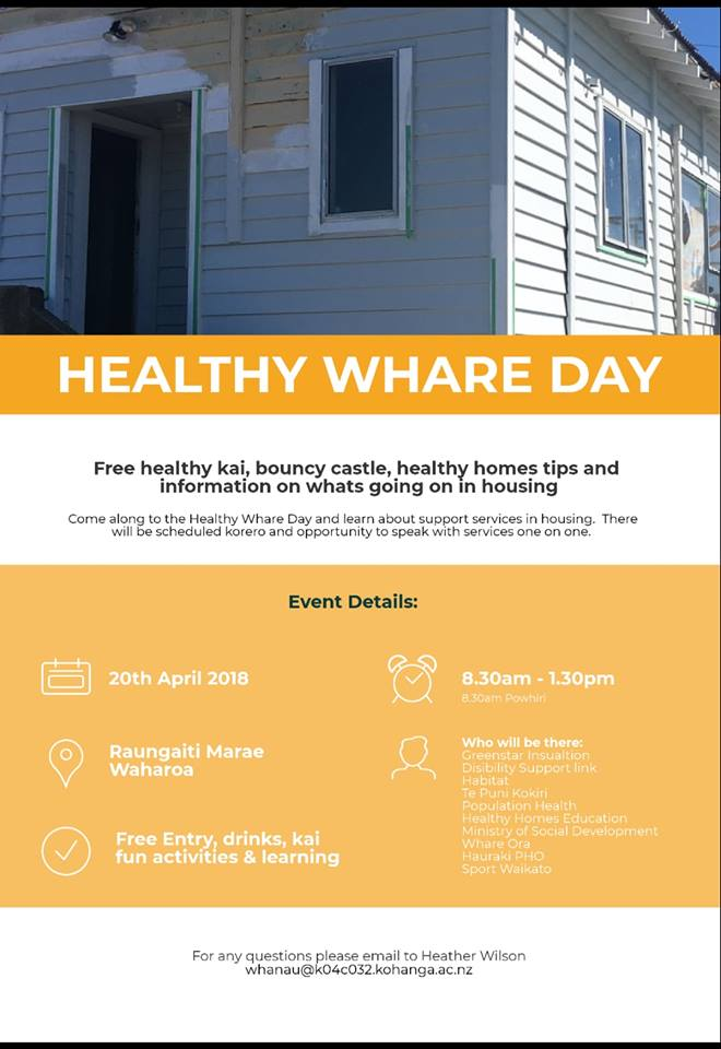 Healthy Whare Day