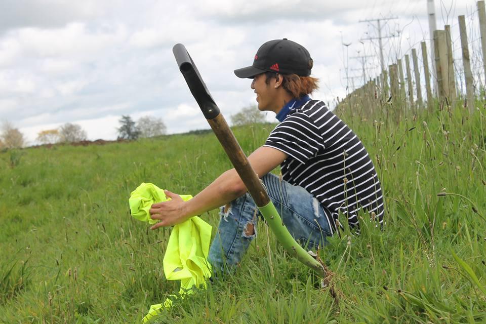 Ngati Haua planting