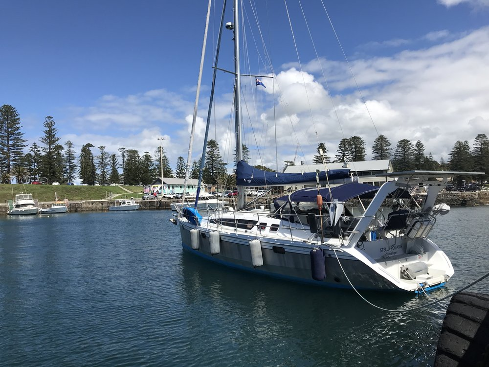 Stella in Kiama Harbour