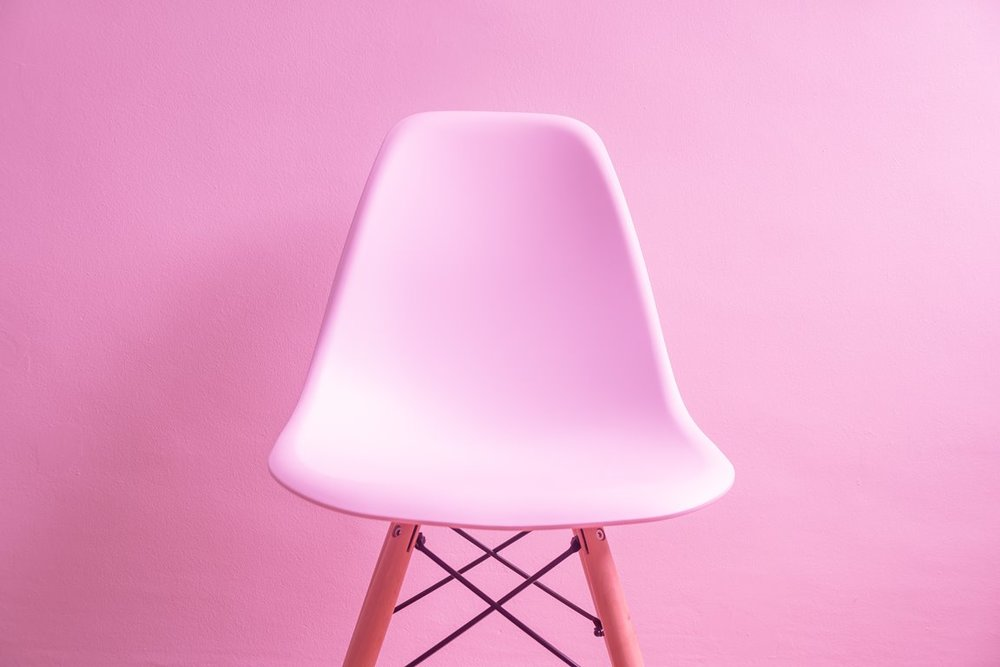 The basic b chair you will never sit on. Looks cute but not gonna lie my flatmates kindly put it together, it was no easy kit-set operation, even if you've battled your way through an apartment full of Ikea kit-set furniture
