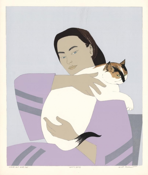 Woman and White Cat.jpg