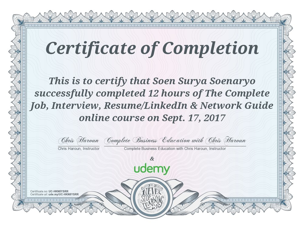 The Complete Job, Interview, Resume/LinkedIn & Network Guide