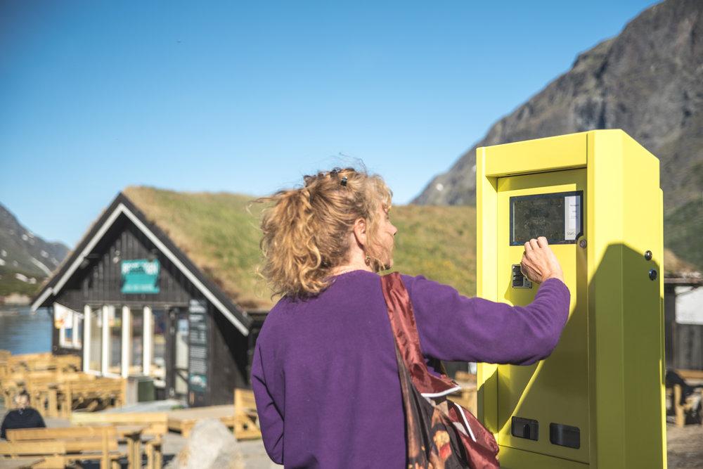 Det er parkeringsautomater på Gjendeosen og Reinsvangen.