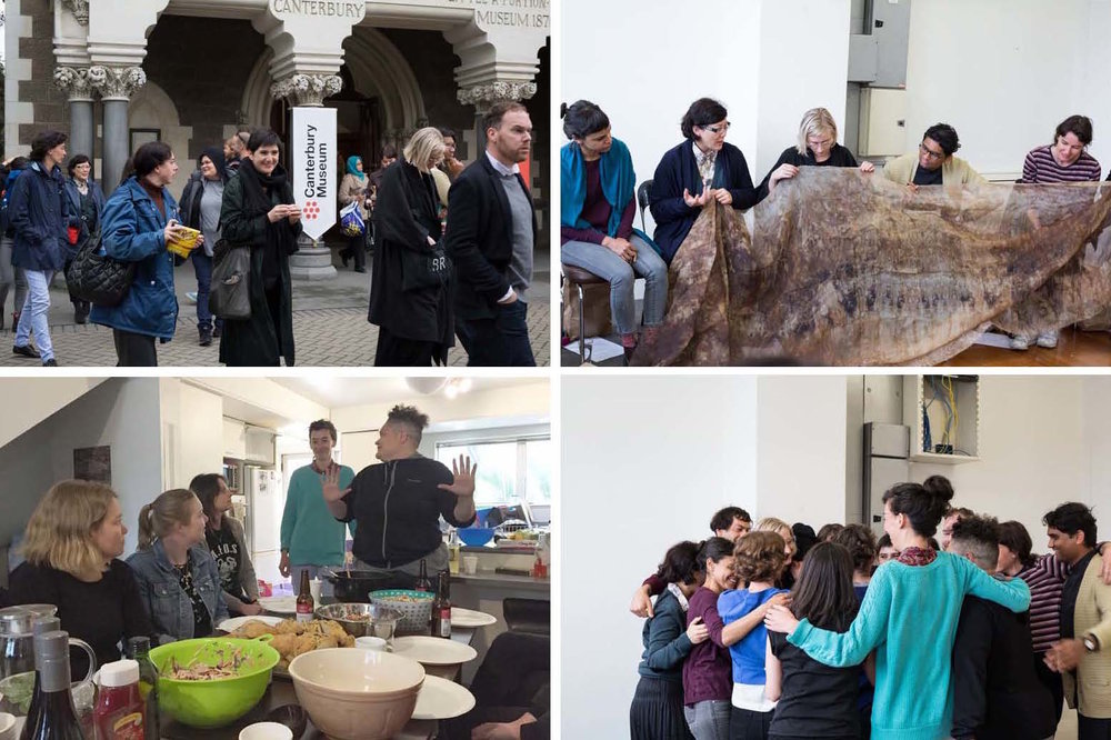 Reflections and Directions ,the Public Programmes Group hosted a workshop/hui with the rest of the group at The Physics Room, which concluded the Emerging Curators Programme.