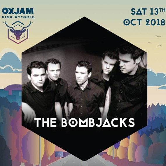 #Thebombjacks would love to thank all the organisers & staff of #oxjamhighwycombe and everyone that came to see all the great bands & artists! You all were awesome! A ruddy good weekend that done some good #feedtheworld end world famine #Oxjam  We are going back to the future for a bit, but hey where we're going we don't need roads...