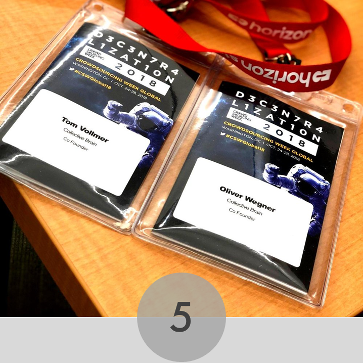 D3C3N7R4L1SAT1ON - We were looking forward to the Crowdsourcing Week 2018, since we attended the last one in Lulea, Sweden. Last Friday, the day had finally come. One week of …read more…