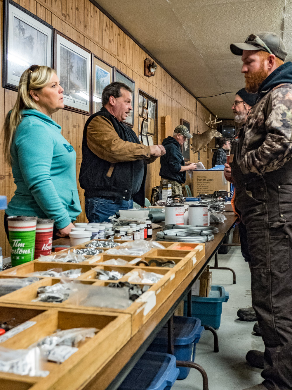 Scott and Cathy Sears, Owners of SAPS Trapping Supplies
