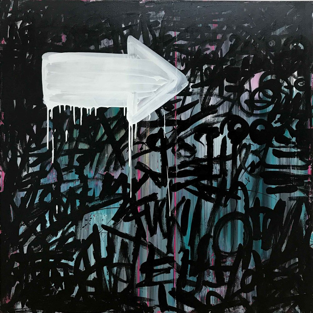 1991 - 48 x 48Acrylic on Canvas