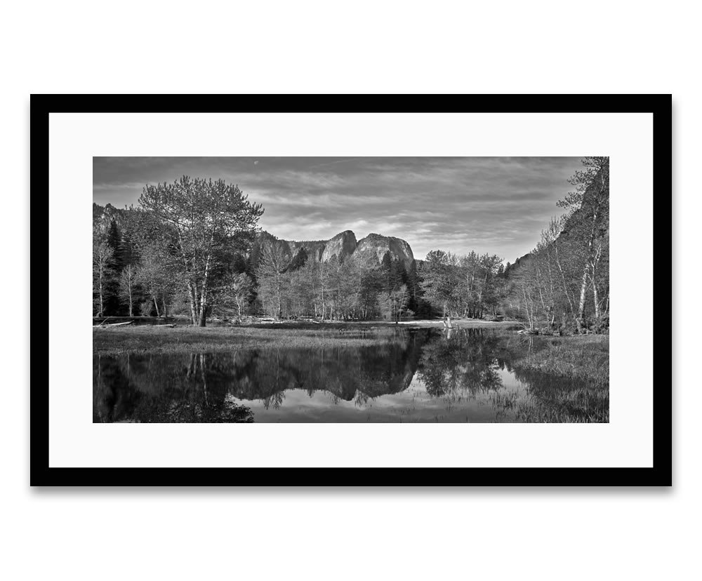 Cathedral Rocks Pond - Yosemite National Park, 2018 - Barry DiBernardo