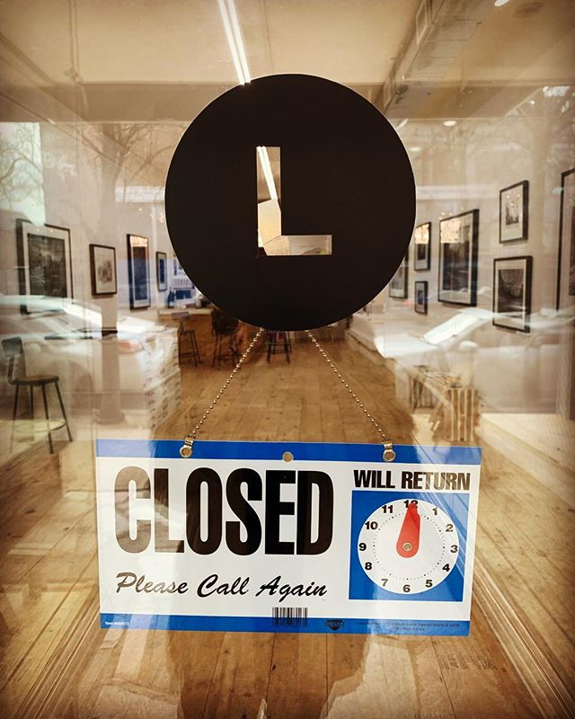 ⚡️ATTENTION ⚡️ Gallery L will need to close at 4pm today. Sorry for any inconvenience. We will reopen tomorrow at 12 ❣️