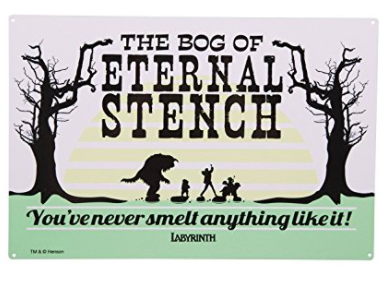 Labyrinth Bog of Eternal Stench Sign