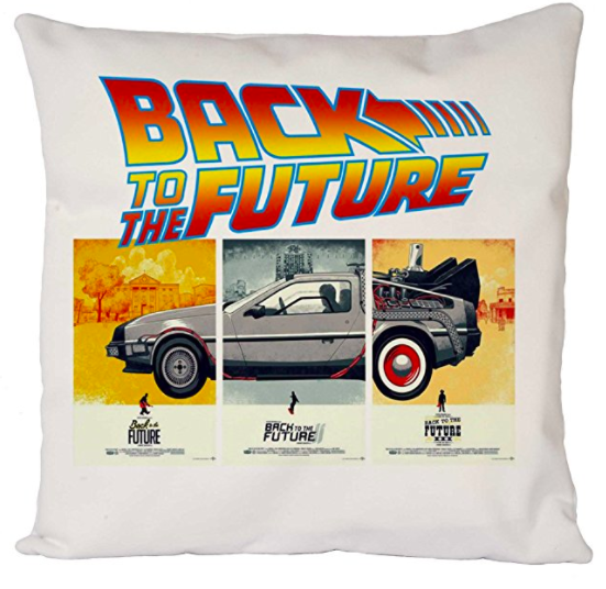 Back to the Future Cushion