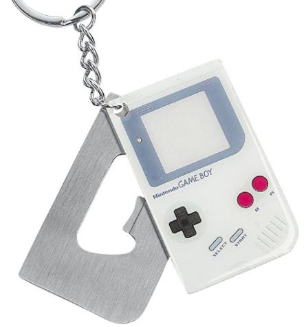 Game Boy Bottle Opener Keyring