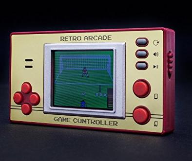 Retro LCD 8-Bit Game