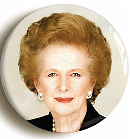 Margaret Thatcher Badge