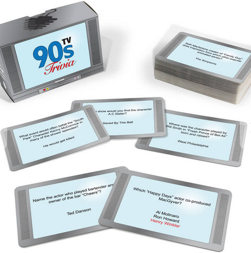 90s TV Trivia Game