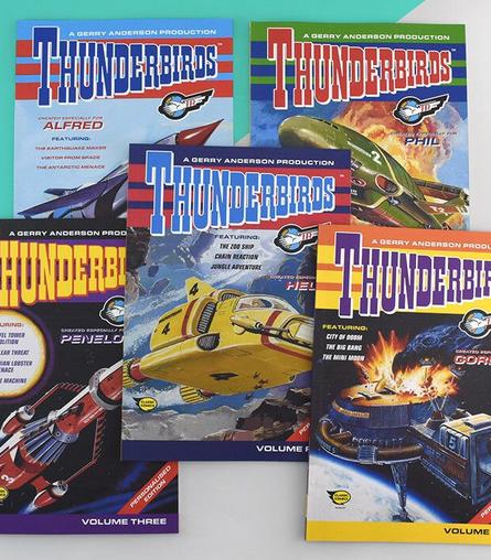 Personalised Thunderbirds Books