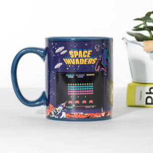 Space Invaders Mug