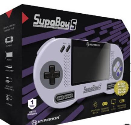 SupaBoy SNES Handheld