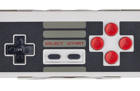 8-Bit NES Bluetooth Controller