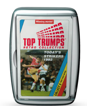 Top Trumps 1992 Strikers