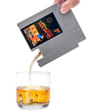 NES Cartridge Flask