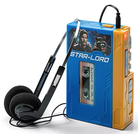 Star-Lord Walkman