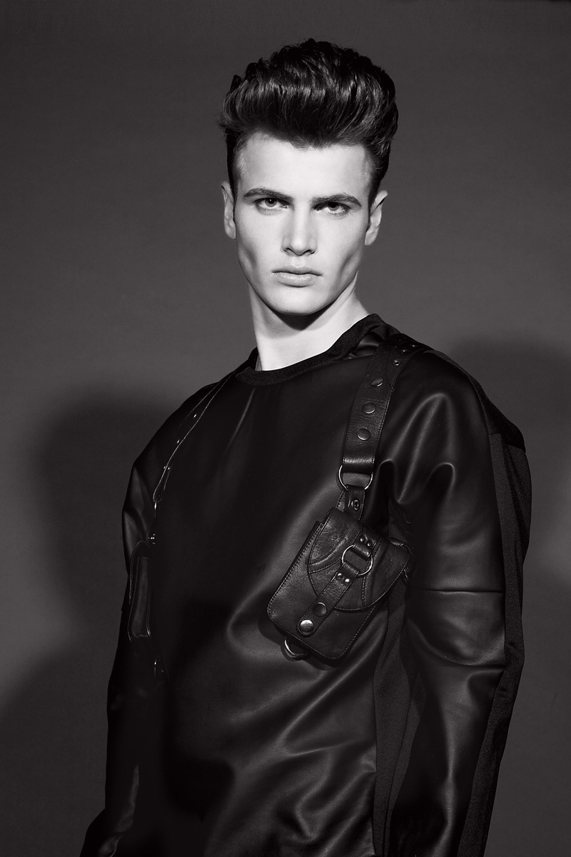 Leather Sweatshirt  Cody Ross, Holster  SkinGraft