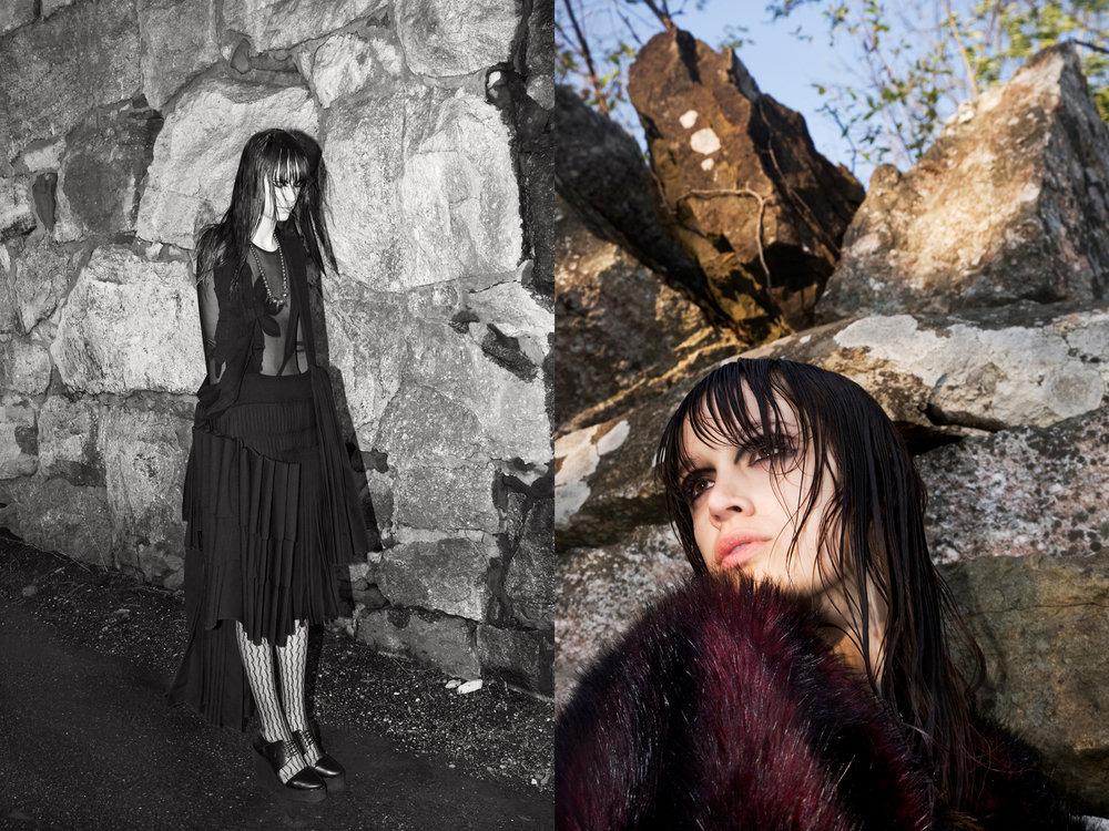 BODYSUIT  KEIKO  DRESS  EV BESSAR RIGHT  Faux Fur coat  Xuly Bet