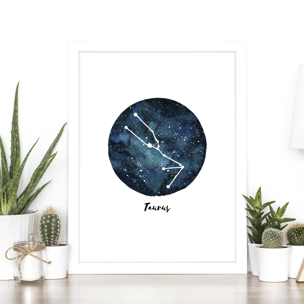 ZODIAC PRINTS - AVAILABLE NOW