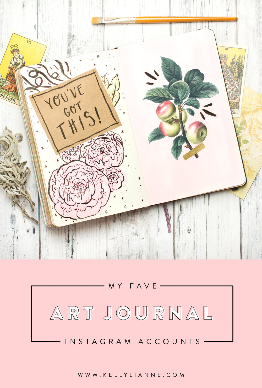 my fave art journal instagram accounts pinterest graphic.jpg