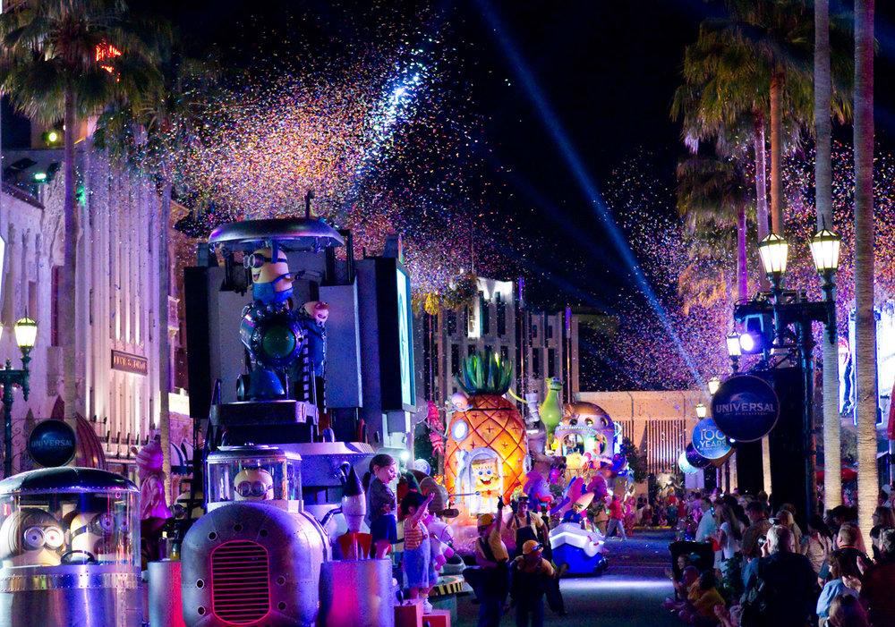 Universal's Superstar Parade - Universal Orlando, FL
