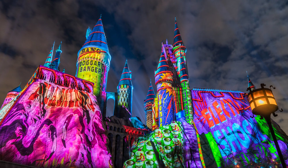 The Magic of Christmas at Hogwarts Castle - Universal Orlando