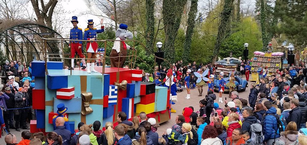 Europa Park's 40th Anniversary Parade - Germany