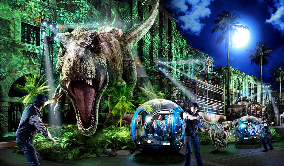 Universal's Spectacle Night Parade - Jurassic World - Universal Japan